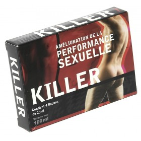 Killer (performance sexuelle) 4 X 25 ml