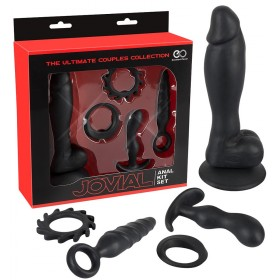 Coffret The Ultimate Anal Kit en silicone